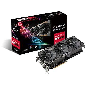ASUS ROG STRIX GAMING RX580 DirectCU III OC 8GB (90YV0AK0-M0NA00) + ZDARMA Hra pro PC Quake Champions Pack