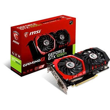 MSI GeForce GTX 1050 Ti GAMING X 4G (GTX 1050 TI GAMING X 4G)