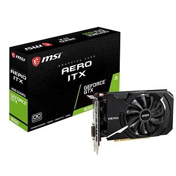MSI GeForce GTX 1650 AERO ITX 4G OC (GTX 1650 AERO ITX 4G OC)
