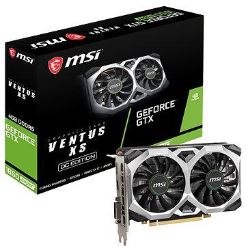 MSI GeForce GTX 1650 SUPER VENTUS XS OC 4G (GTX 1650 SUPER VENTUS XS OC)