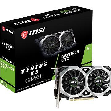 MSI GeForce GTX 1650 VENTUS XS 4G OC (GTX 1650 VENTUS XS 4G OC)
