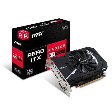 MSI Radeon RX 550 AERO ITX 4G OC (Radeon RX 550 AERO ITX 4G OC)