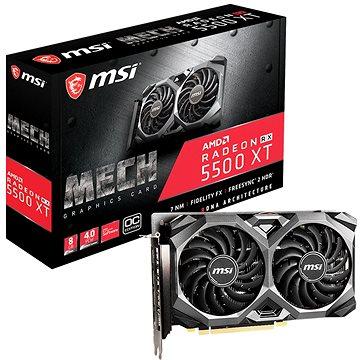 MSI Radeon RX 5500 XT MECH 8G OC (RX 5500 XT MECH 8G OC)