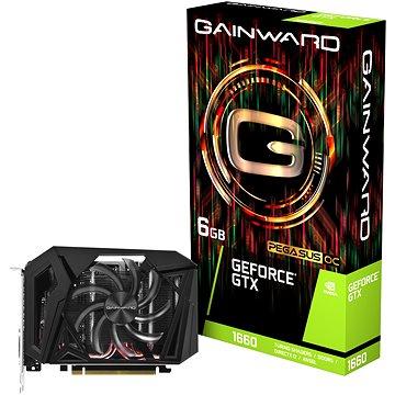 GAINWARD GeForce GTX 1660 6G PEGASUS OC (426018336-4382)