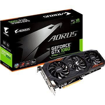 GIGABYTE GeForce GTX 1060 G1 Gaming 9Gbps (GV-N1060AORUS-6GD)