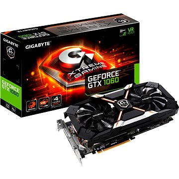 GIGABYTE GeForce GTX 1060 Xtreme Gaming (GV-N1060EXTREME-6GD)
