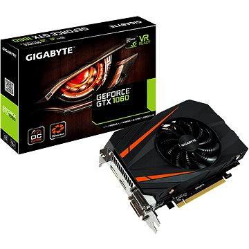 GIGABYTE GeForce GTX 1060 Mini ITX OC 3G (GV-N1060IXOC-3GD) + ZDARMA Poukaz Elektronický dárkový poukaz Alza.cz v hodnotě 600 Kč na nákup sortimentu Logitech Gaming