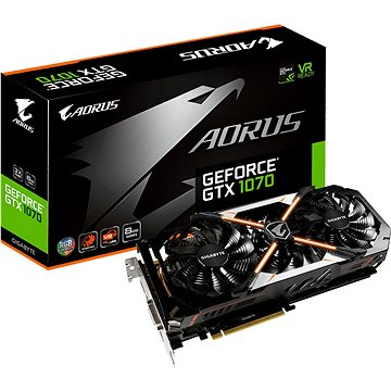 GIGABYTE GeForce GTX 1070 AORUS (GV-N1070AORUS-8GD)