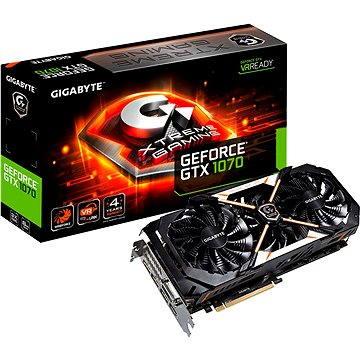 GIGABYTE GeForce GTX 1070 Xtreme Gaming (GV-N1070XTREME-8GD) + ZDARMA Hra pro PC Watch Dogs 2 Poukaz Elektronický dárkový poukaz Alza.cz v hodnotě 600 Kč na nákup sortimentu Logitech Gaming