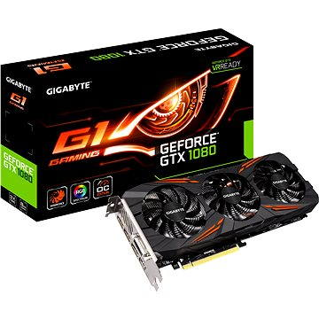 GIGABYTE GeForce GTX 1080 G1 Gaming (GV-N1080G1 GAMING-8GD) + ZDARMA Hra pro PC Destiny 2