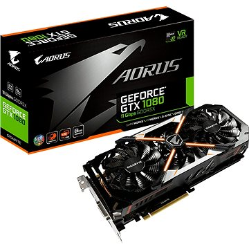 GIGABYTE GeForce AORUS GTX 1080 8G (GV-N1080AORUS-8GD) + ZDARMA Hra pro PC Middle-earth: Shadow of War