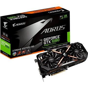 GIGABYTE GeForce AORUS GTX 1080 Xtreme Edition 8G 11Gbps (GV-N1080AORUS X11-8GD)