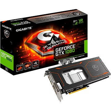 GIGABYTE GeForce GTX 1080 Xtreme Gaming WATERFORCE WB 8GB (GV-N1080XTREME WB-8GD)