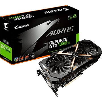 GIGABYTE GeForce AORUS GTX 1080 Ti 11G (GV-N108TAORUS-11GD)