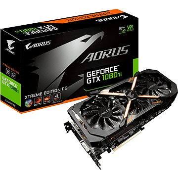 GIGABYTE GeForce AORUS GTX 1080 Ti Xtreme Edition 11G (GV-N108TAORUS X-11GD) + ZDARMA Hra pro PC Destiny 2