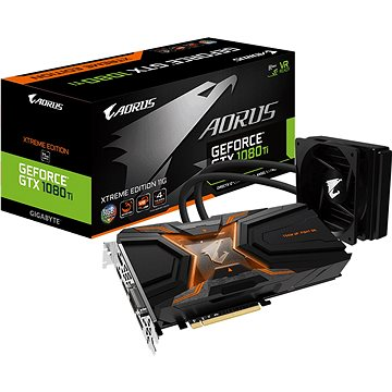 GIGABYTE GeForce AORUS GTX 1080 Ti Waterforce Xtreme Edition 11G (GV-N108TAORUSX W-11GD)