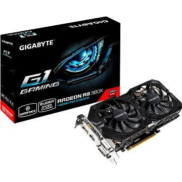 GIGABYTE R9 380X G1 WINDFORCE 2X Gaming 4GB (GV-R938XG1 GAMING-4GD)