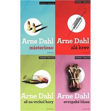 Čtyři severské detektivky Arneho Dahla za výhodnou cenu