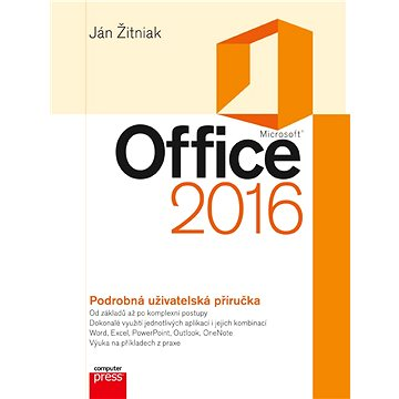 Microsoft Office 2016 Podrobná uživatelská příručka (978-80-251-4891-4)