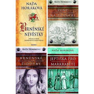 4 historické romány Nadi Horákové za výhodnou cenu