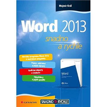 Word 2013 (978-80-247-4727-9)