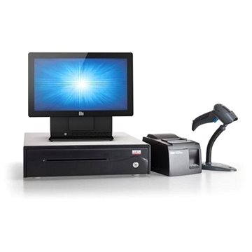ELO 15E2 + tiskárna TSP143U + čtečka Zebra LS1203 + pokladní zásuvka + SW SEP System TiGo (E924393-CPT)