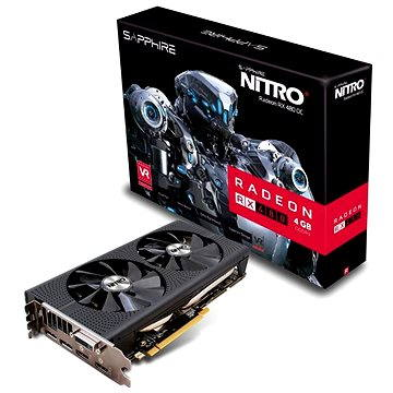 SAPPHIRE NITRO+ Radeon RX 480 4GB (11260-02-20G)