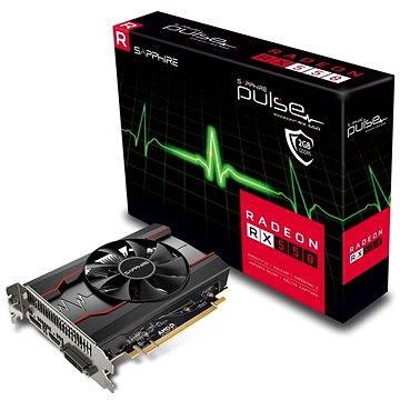 SAPPHIRE PULSE Radeon RX 550 2G OC (11268-03-20G)