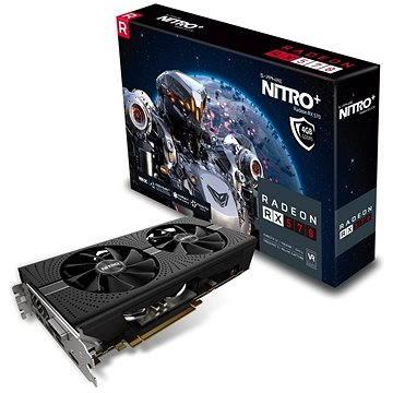 SAPPHIRE NITRO+ Radeon RX 570 OC 4G (11266-14-20G) + ZDARMA Hra pro PC Quake Champions Pack