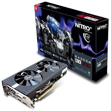 SAPPHIRE NITRO+ Radeon RX 580 OC 4G (11265-07-20G) + ZDARMA Hra pro PC Quake Champions Pack