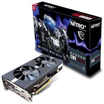 SAPPHIRE NITRO+ Radeon RX 580 OC 4G (Samsung Memory) (11265-31-20G)
