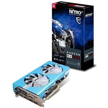 SAPPHIRE NITRO+ Radeon RX 580 Special Edition METAL BLUE (11265-21-20G) + ZDARMA Hra pro PC Quake Champions Pack