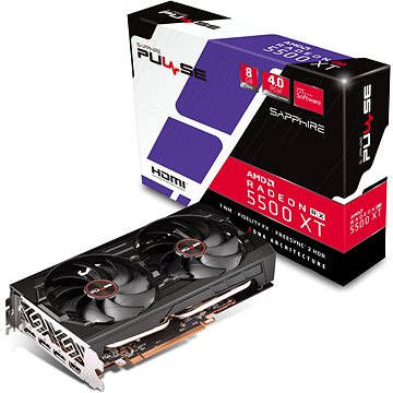 SAPPHIRE PULSE Radeon RX 5500 XT 8G (11295-01-20G)