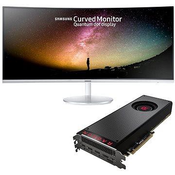 AMD RADEON VEGA BLACK PACK + herní monitor Samsung 34 (Vega 64 Air with Samsung 34) + ZDARMA Hra pro PC Akční balíček her: Prey a Wolfenstein II: The New Colossus