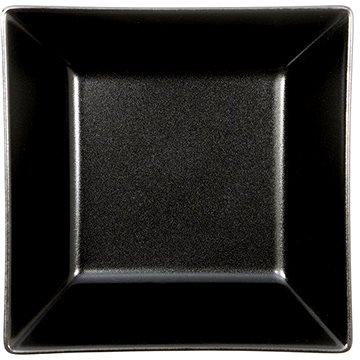 ELITE Talíř hluboký čtvercový 17,5x17,5cm černý, sada 6ks (25000 černá)