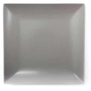 ELITE Talíř mělký čtvercový 26x26cm šedý, sada 6ks (25001 šedá)