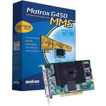 MATROX Millennium G450, MMS QUAD - G45X4QUAD-BF