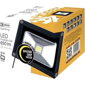 EMOS LED REFLEKTOR 10W HOBBY (8592920024966)