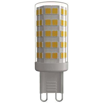 EMOS LED žárovka Classic JC A++ 4,5W G9 teplá bílá (1525736202)
