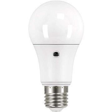 EMOS LED žárovka Classic A60 9W E27 teplá bílá světelné čidlo (1525733219)