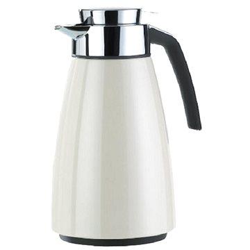 Emsa BELL Vacuum jug Quick Tip 1.0L shiny Snow white 513811