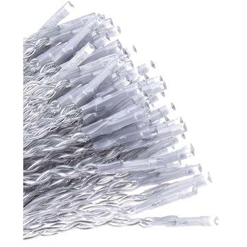 EMOS LED řetěz – krápníky, 5m, studená b., ovladač, programy (1534190500)