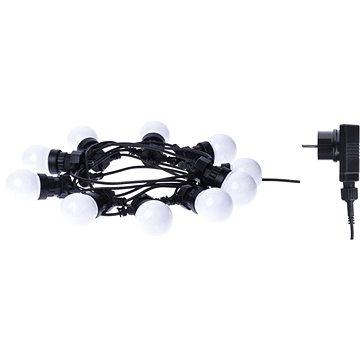 EMOS LED řetěz - párty žárovky mléčné, 5m, IP44, teplá bílá (1534193900)