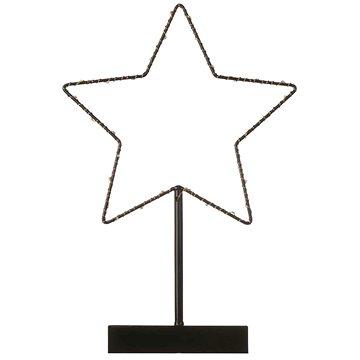 EMOS LED dekorace - hvězda, 3xAA, teplá bílá, časovač (1534196000)