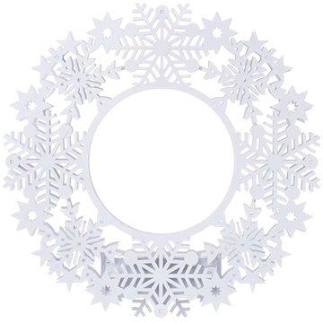EMOS LED dekorace - věnec, 2xAA, IP20, teplá bílá, časovač (1534195900)