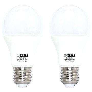 TESLA LED 9W E27 2700K, 2ks (BL270927-4DUO)