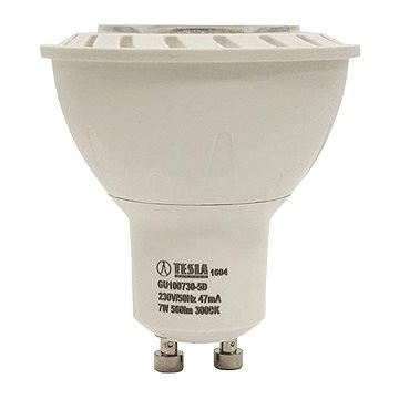 TESLA LED 7W GU10 3000K stmívatelná (GU100730-5D)