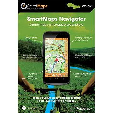 SmartMaps Navigator pro Android (elektronická licence) (SMMAP.NAV.ANDR.2014)