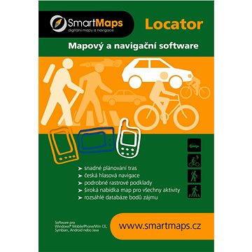 SmartMaps Locator Podrobná mapa SR 1:10 000 (elektronická licence) (SMMAP.LOC.PODSR.ANDR.WP.2014)