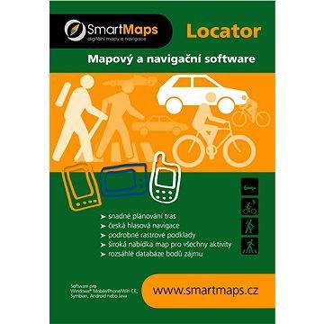 SmartMaps Locator Cykloturistická mapa ČR a SR 1:40 000 (elektronická licence) (SMMAP.LOC.CTCRSR.ANDR.WP.2014)